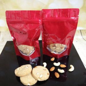 Wheat Almond Cashew cookies