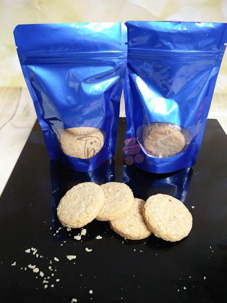 Wheat oats cookies